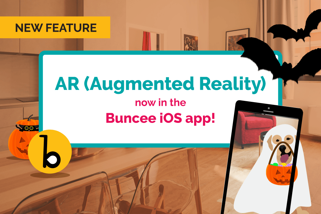AR (Augmented Reality) Now in the Buncee iOS App