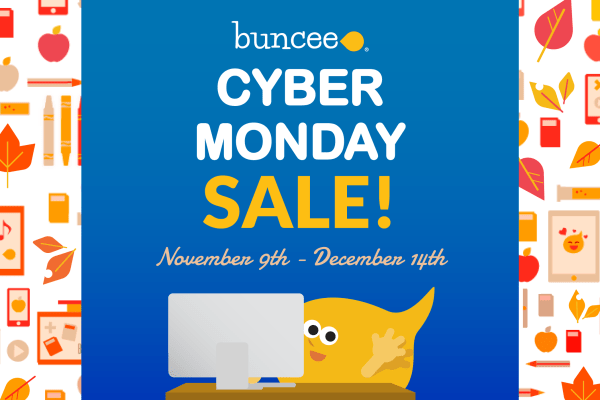 Buncee Cyber Monday Sale