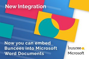 Buncee Feature Update: Embed Buncees in Microsoft Word Documents