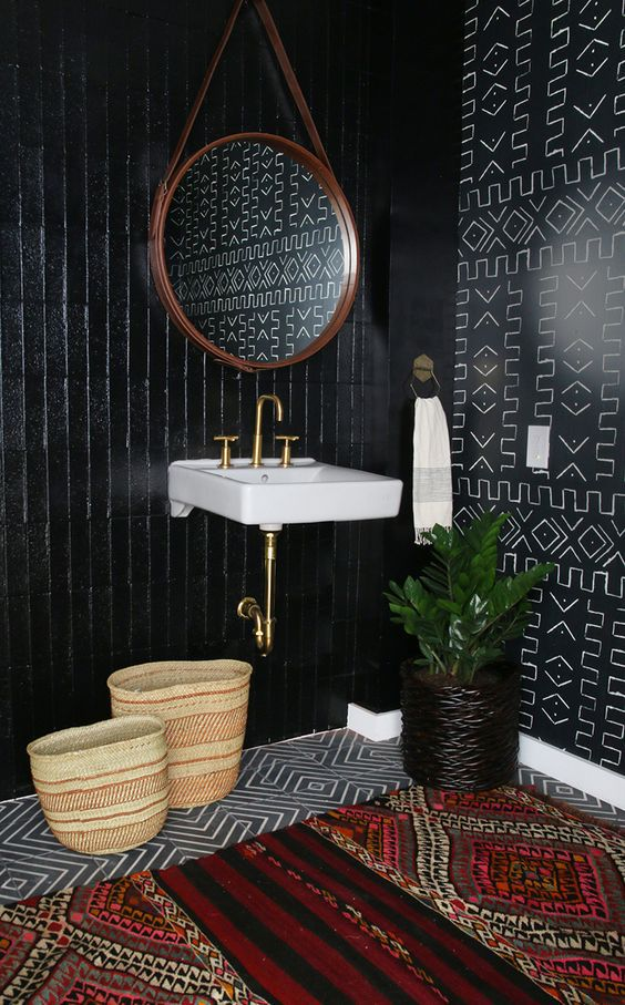 African Mud Cloth Patterns