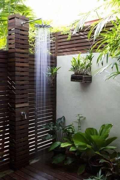 Modern Jungle Shower