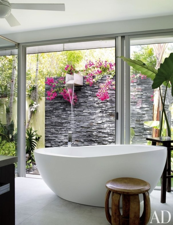 Modern Luxury Garden Shower