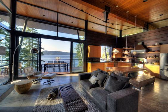 Modern and Rustic