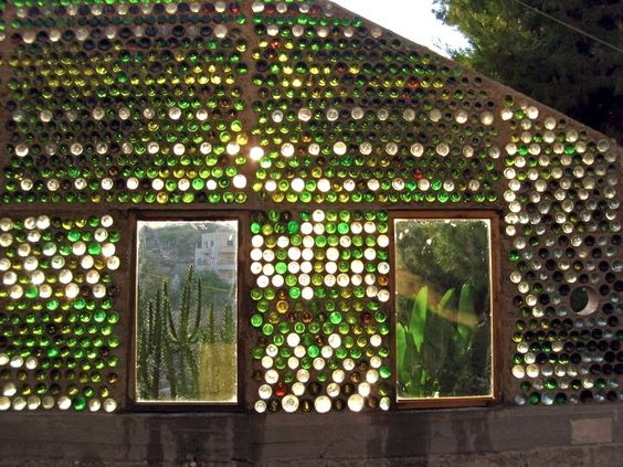 Glass Bottle Greenhouse