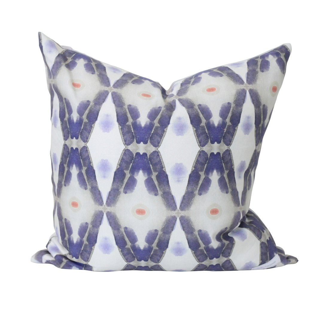 Midnight Pine Modern Pillow