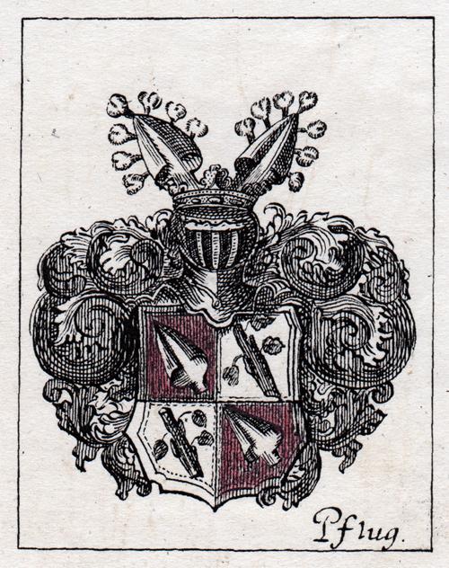Wappen der Familie Pflugk (Burg Posterstein)