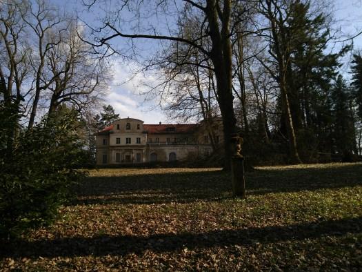 Der Schlossprk in Tannenfeld im Frühjahr 2018.