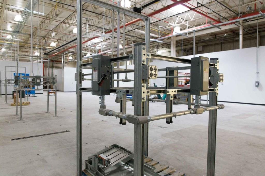 Equipment Refurbishing Area