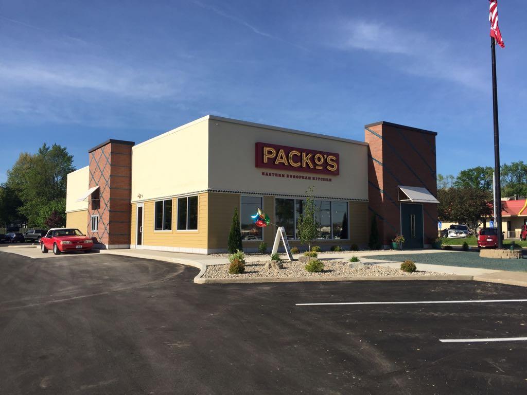 Tony Packos new location building