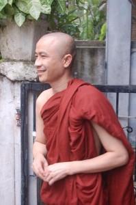 Burmesischer Mönch