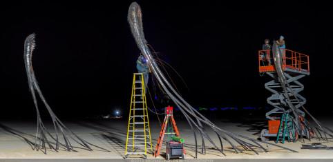 Burning Man Art Preview: Drifts