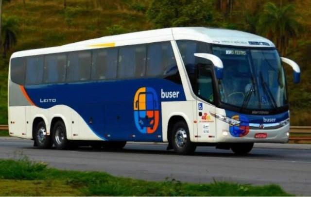 Primeiros ônibus Buser de Ricardo Sortica