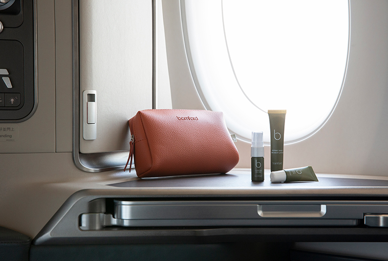 Cathay Pacific refreshed business class amenity kits