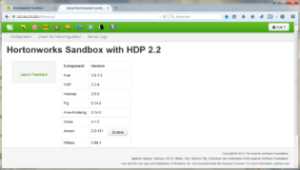 console_HDP Hortonworks