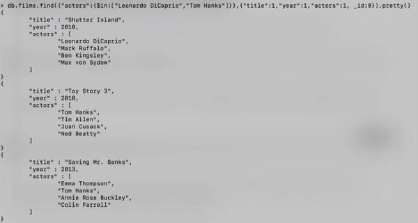 Tutoriel MongoDB : Les requêtes - Part. 1