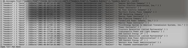 [Tutoriel] MongoDB : Indexation et performance - enron-find-7