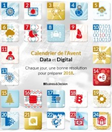 Calendrier de l'Avent Data & Digital