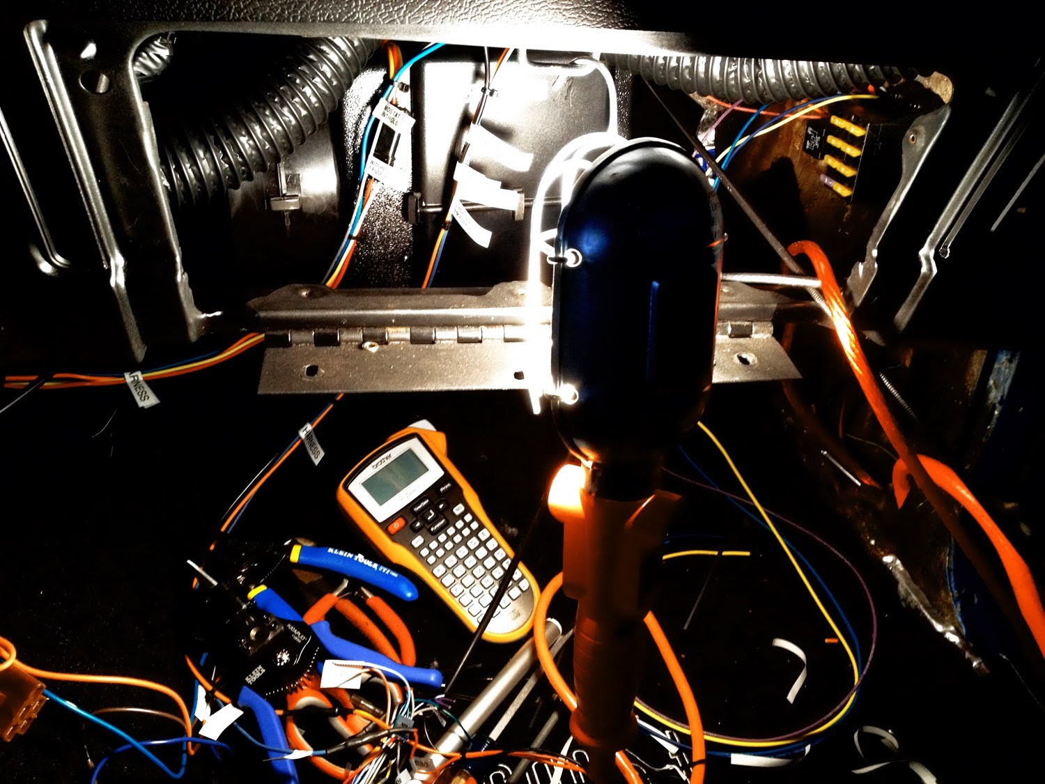 hight resolution of  old car electrical wiring the right way painless wiring harness making video