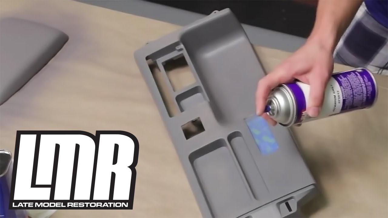 How To Paint Dye Interior Vinyl Plastic Parts Mustang Tech