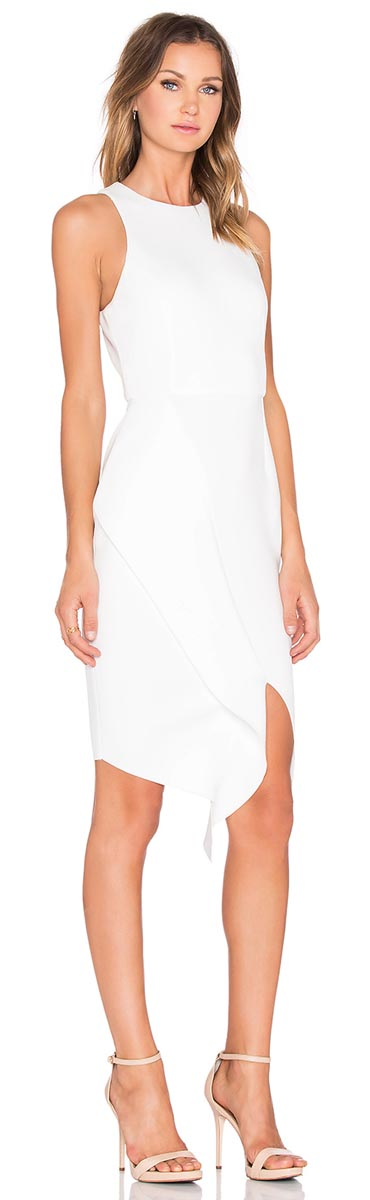 Elliatt Reef Dress in White