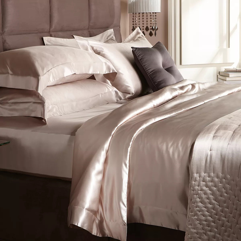Gingerlily Silk Solid Bedding Collection