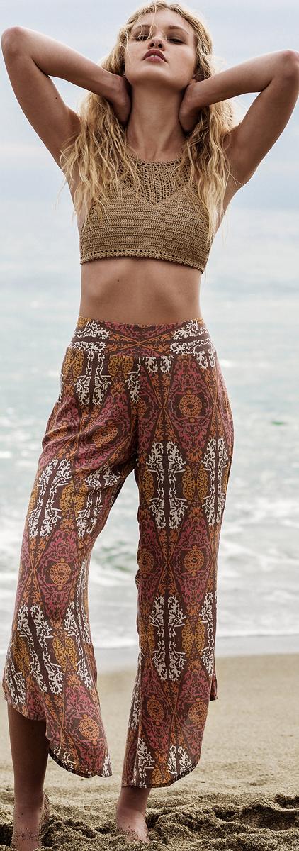 Free People Dancing Days Boho Pants