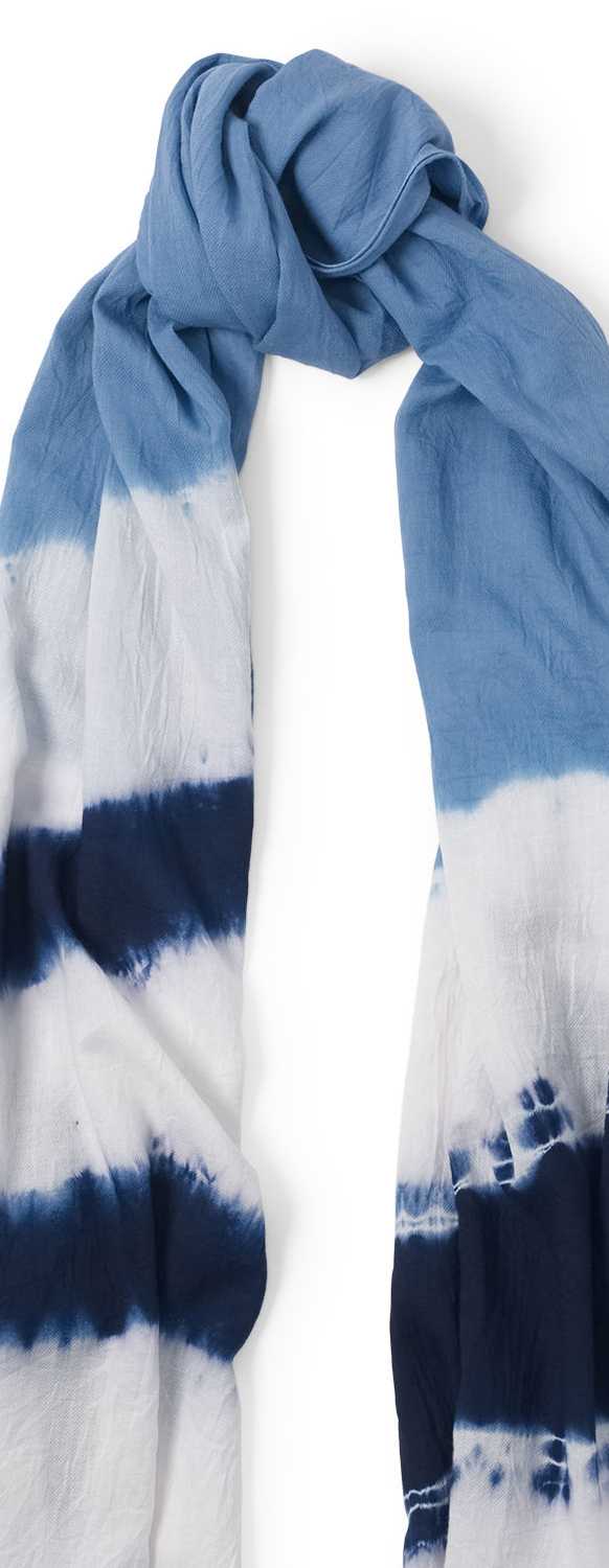 Polo Ralph Lauren Tie Dyed Cotton Twill Scarf