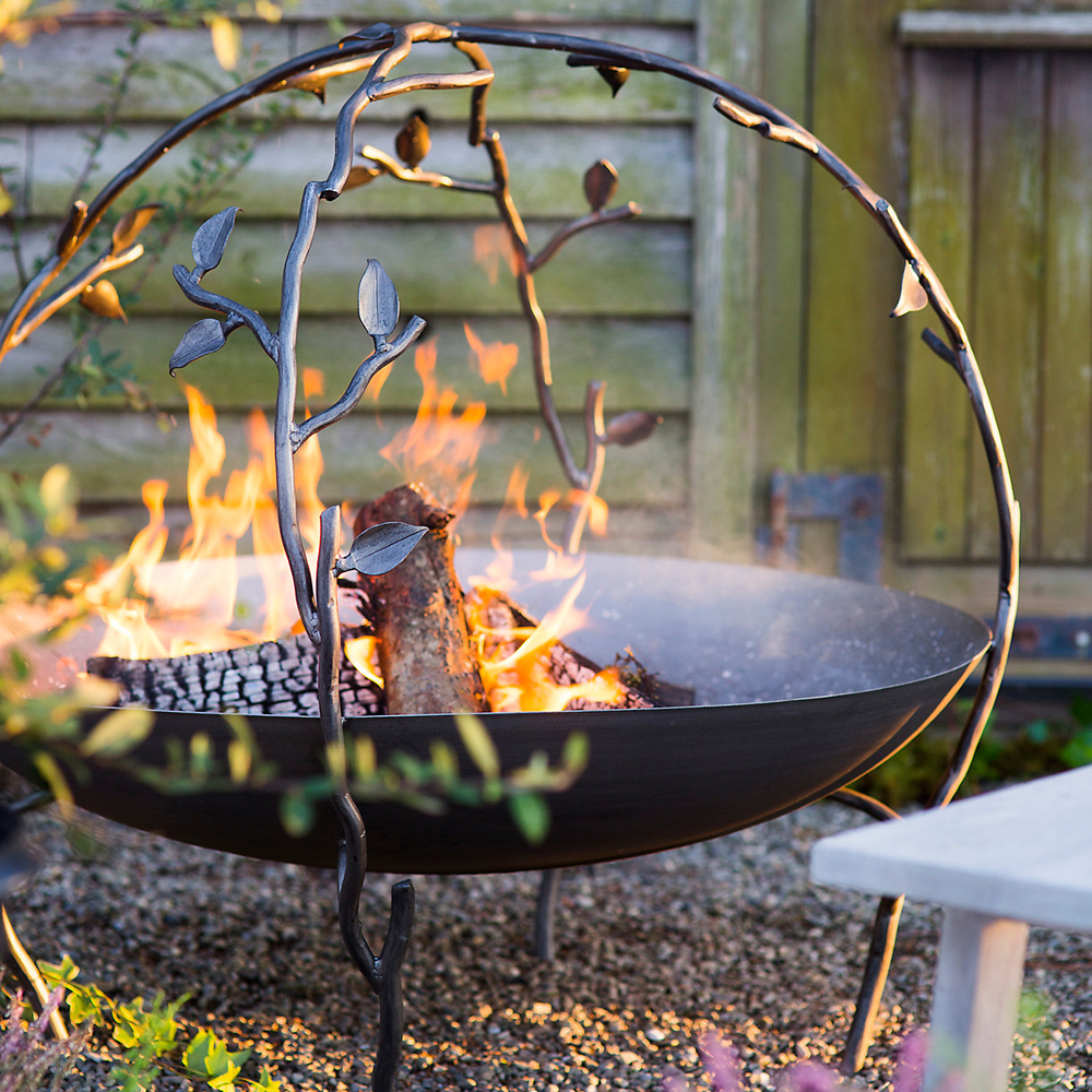 Woodland Arbor Fire Pit