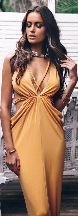 Ayana Braid Boho Gown