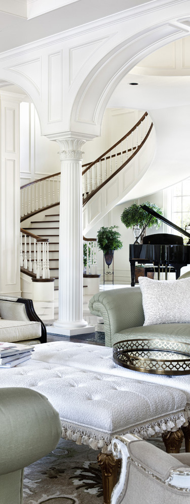 Jauregui Architects   Southern Mississippi Living Room
