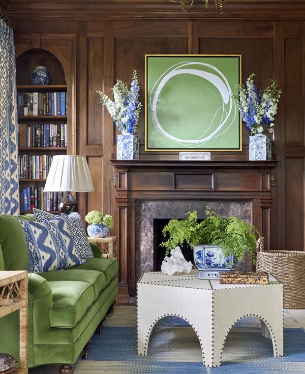 Sarah Bartholomew Design | Decorating with Green