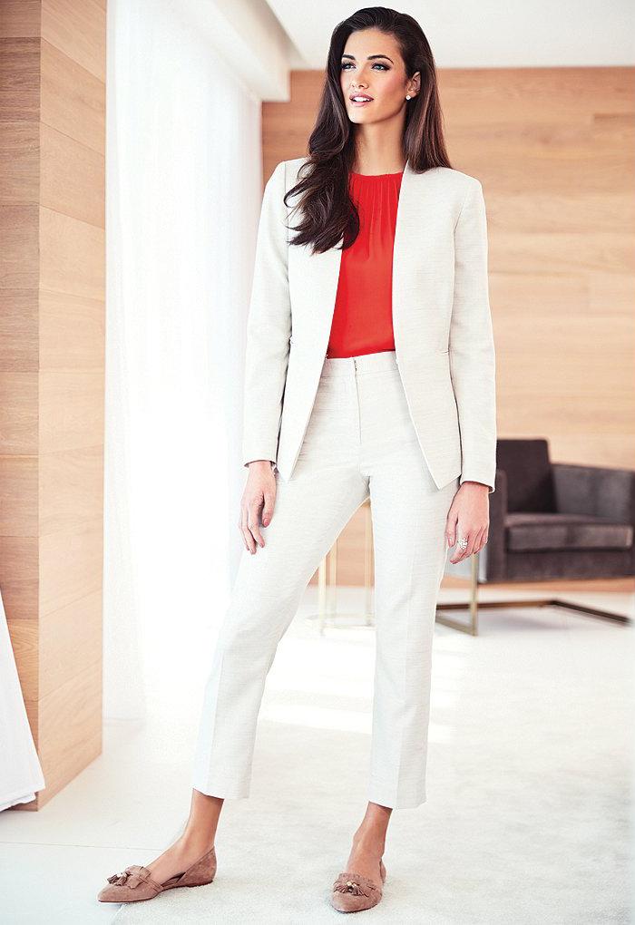 Antonio Melani Martin V-Neck Long Sleeve Jacket