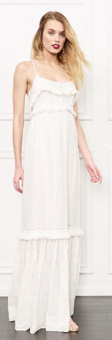 Rachel Zoe Riley Eyelet Gown