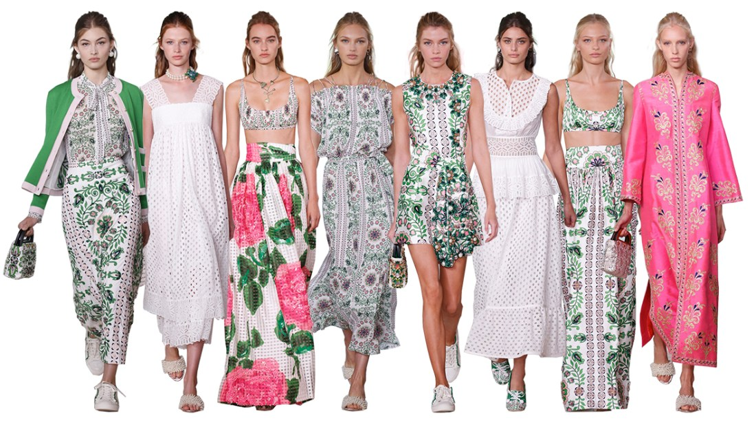 Tory Burch Runway | Spring Fashion 2017