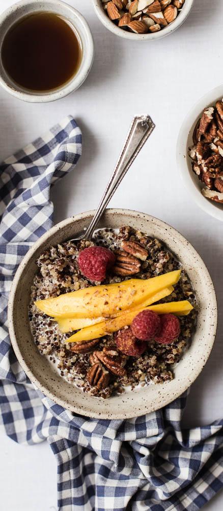 6 Ingredient Breakfast Quinoa