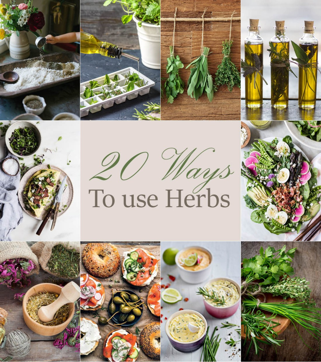 20 Ways to Use Herbs