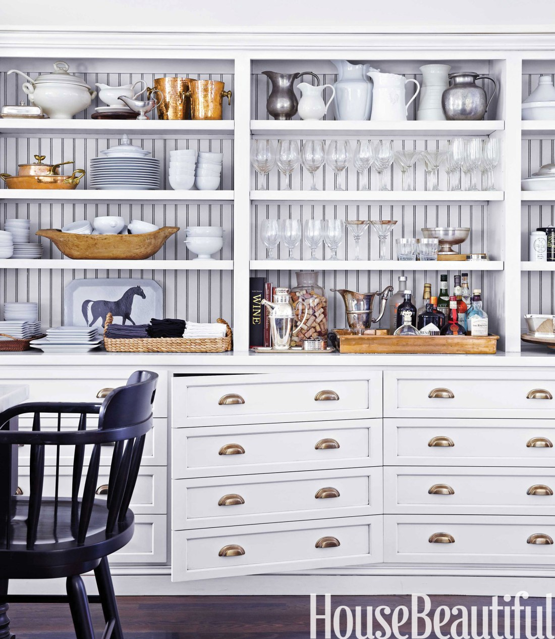 Globally Inspired Kitchen | Storage