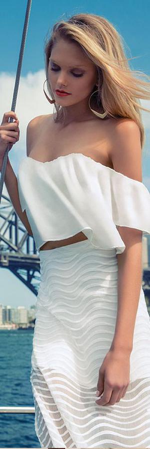 Bardot Skirt & Top