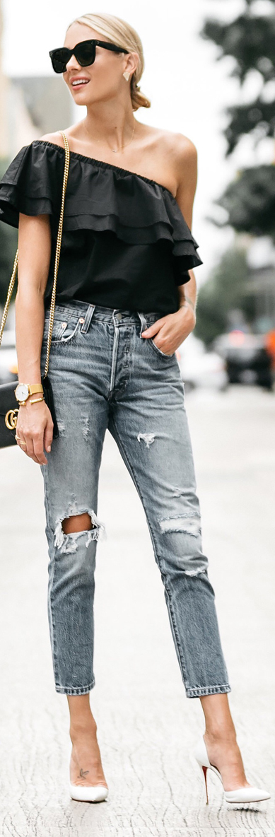 Top Fashion Bloggers   Street Style   30+ Summer Outfit Ideas   BuyerSelect.com
