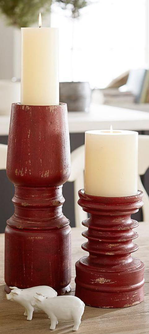 Rustic Farmhouse Candles