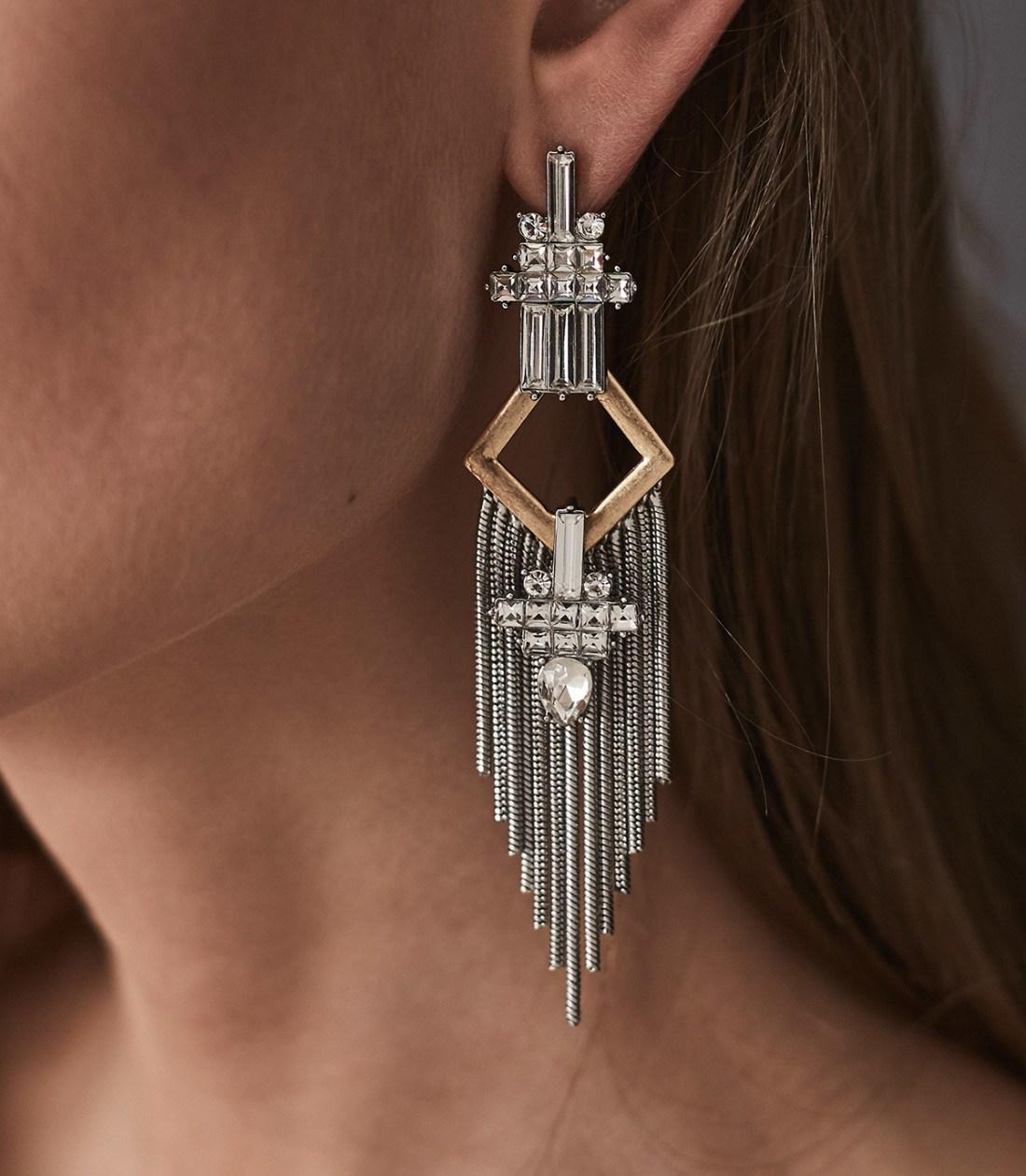 Lana Tassel Detail Fringe Earrings
