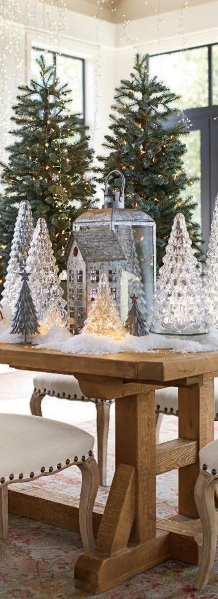 Pottery Barn Rustic Christmas