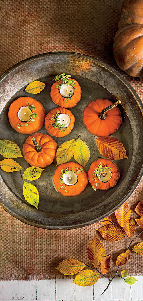 Pumpkin Votive Candles
