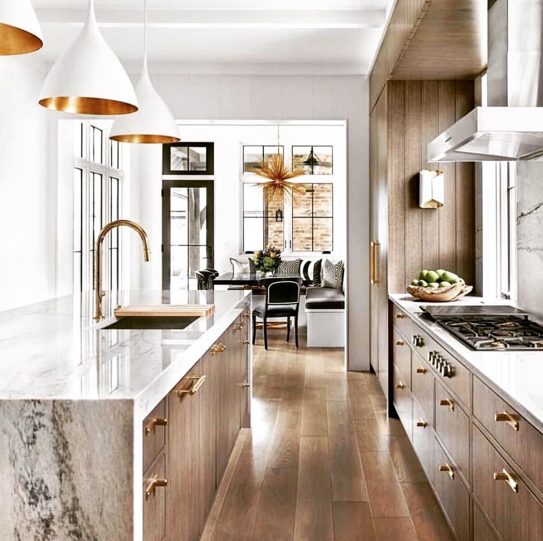 Elegant Kitchen by Obrien Harris Cabinetry