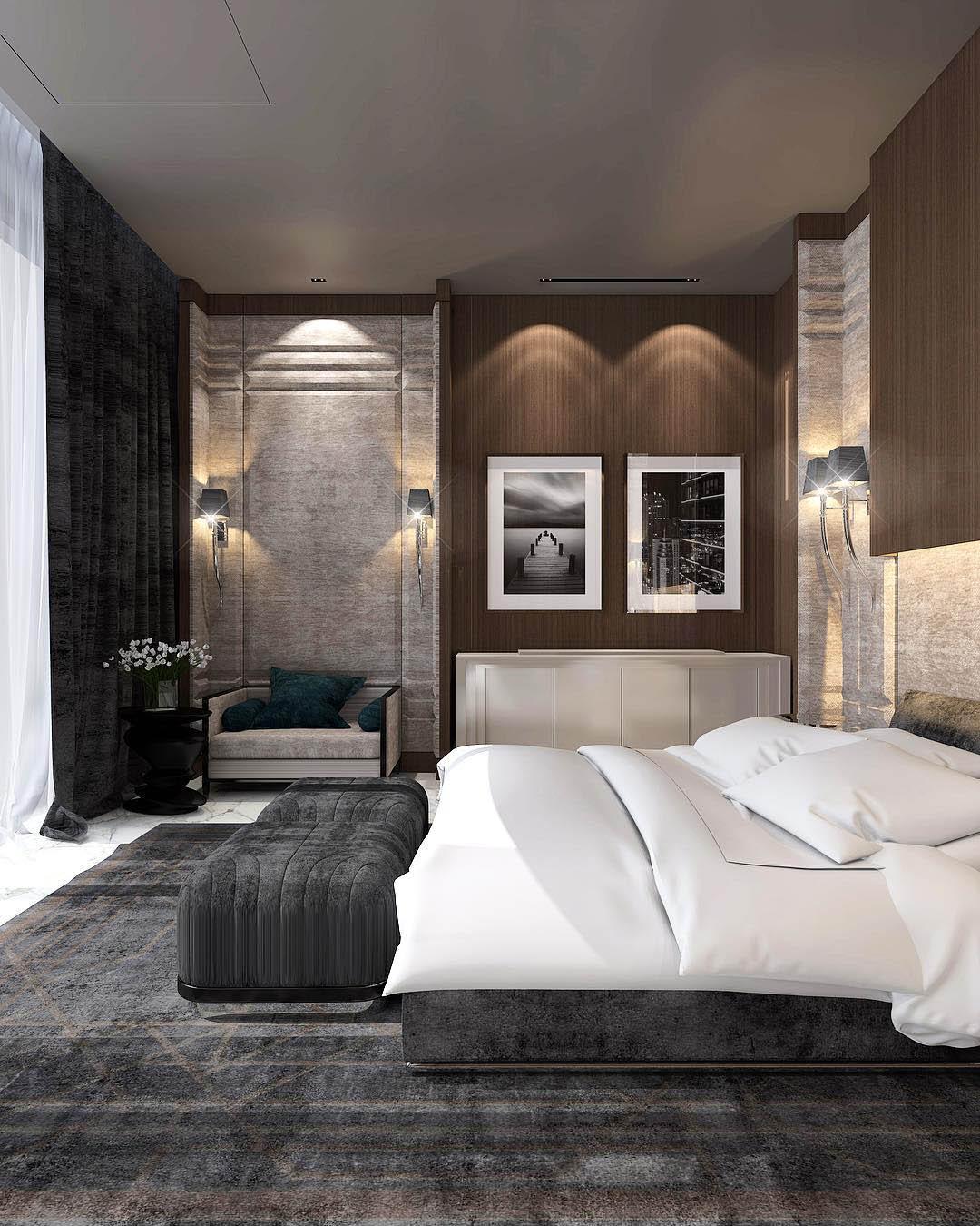 Constantin Frolov Interior Design | Luxurious Bedroom Ideas