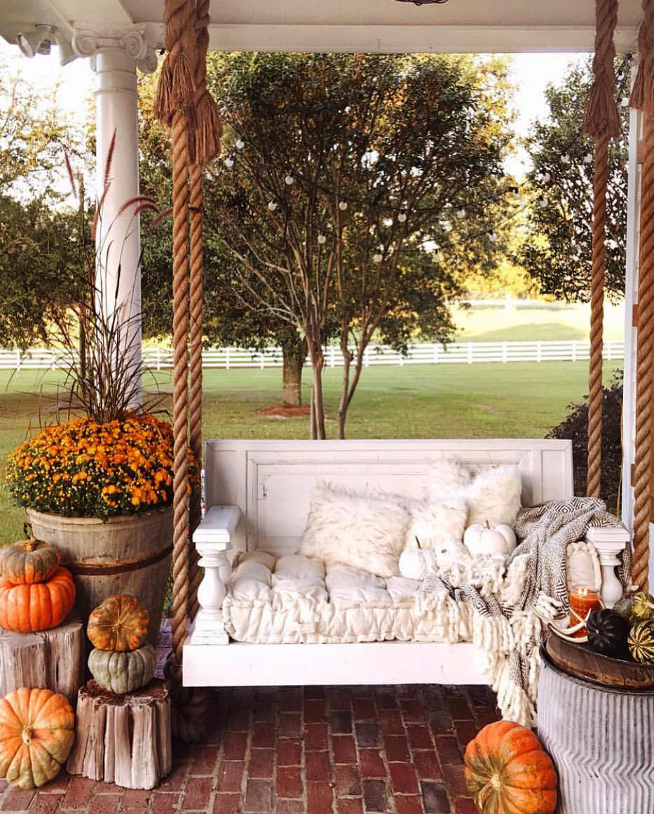 The Perfect Fall Hangout Spot | Ivory Home Design
