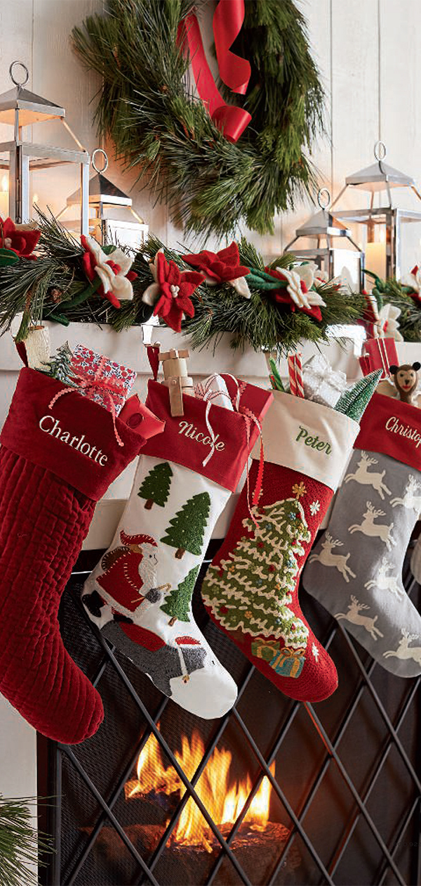 Christmas Stockings | Christmas Decorating Ideas