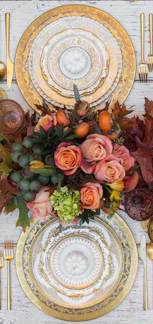 Fall Tablescape Ideas | Case de Perrin