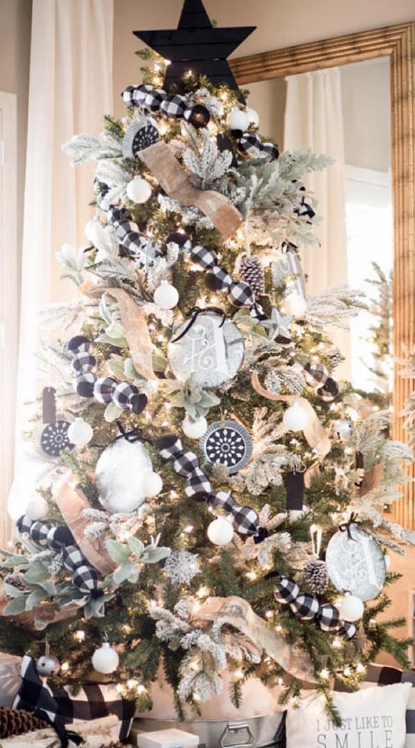 Buffalo Check Christmas Tree | Just Destiny Mag