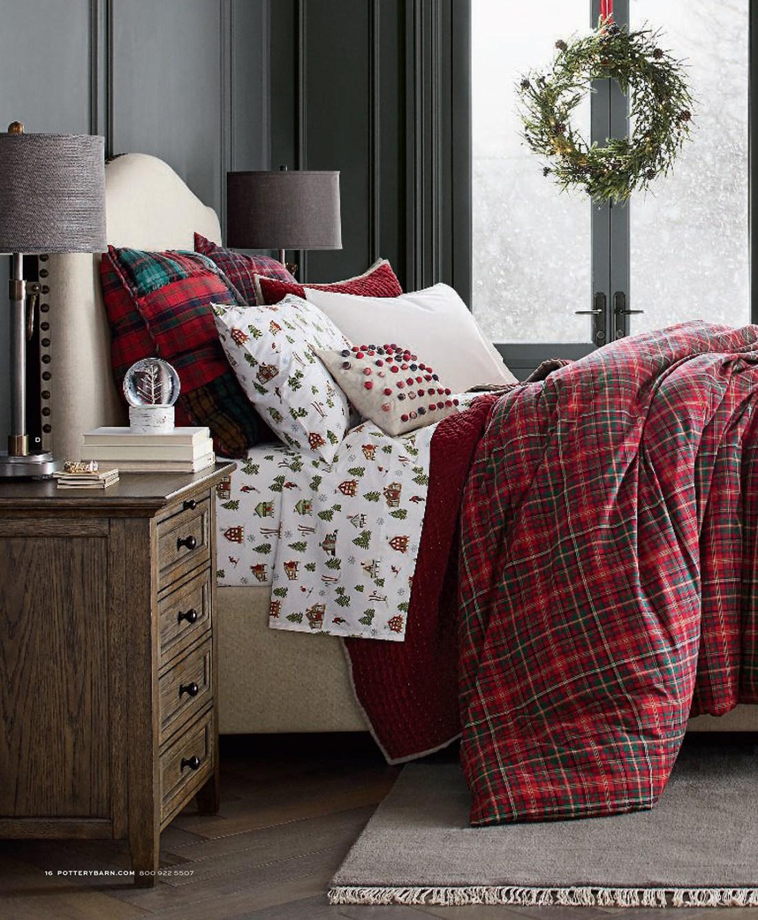 Christmas Bedding Collection | Holiday Plaid Bedding